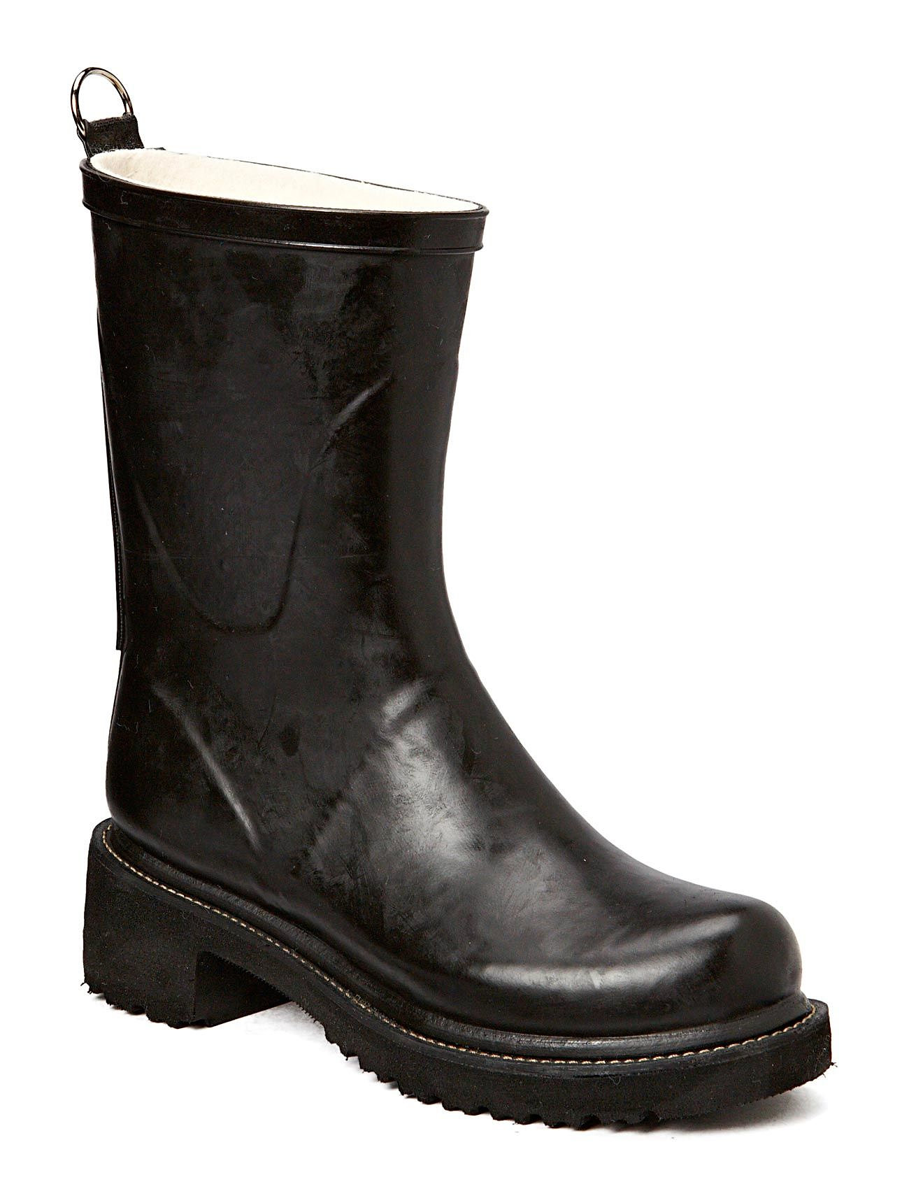 Ilse Jacobsen 3/4 RUBBER BOOT - 01 Black