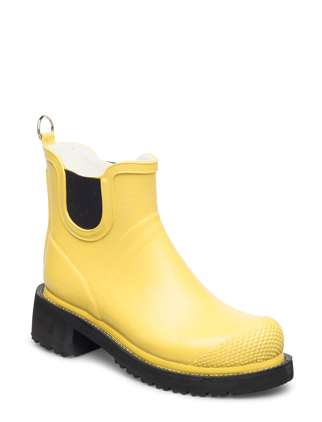 Ilse Jacobsen SHORT RUB HIGH HEEL - YELLOW