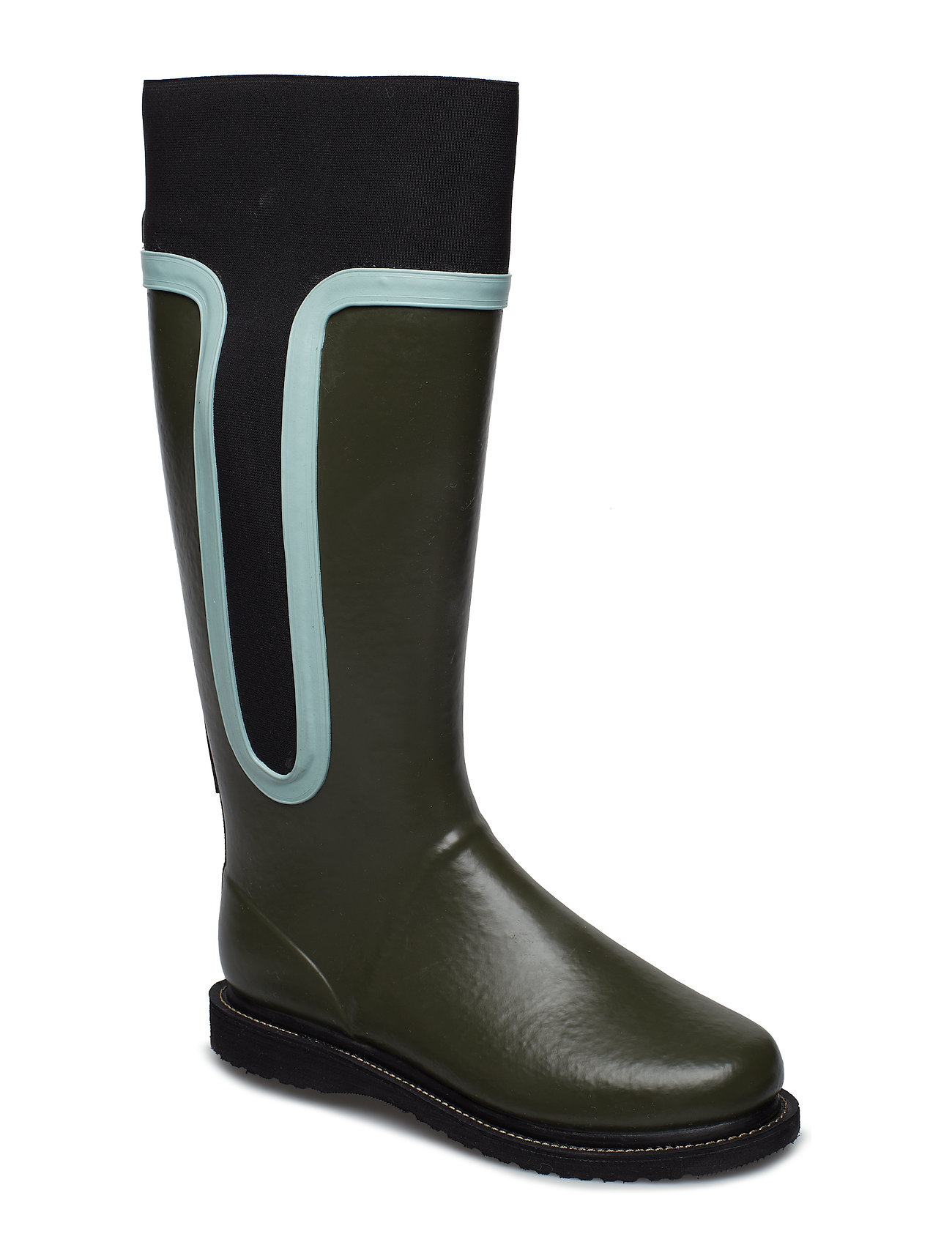 Image of High Rubber Boot Gummistøvler Sko Sort Ilse Jacobsen (3091994371)