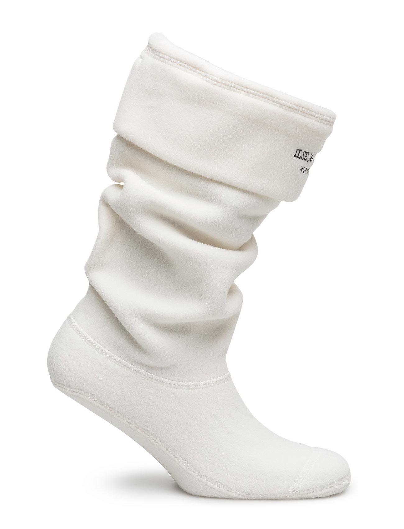 Ilse Jacobsen Fleece Sock (120001 Creme Black) 212.50 kr | Stort utbud av designermärken 4Zp9ZoW3