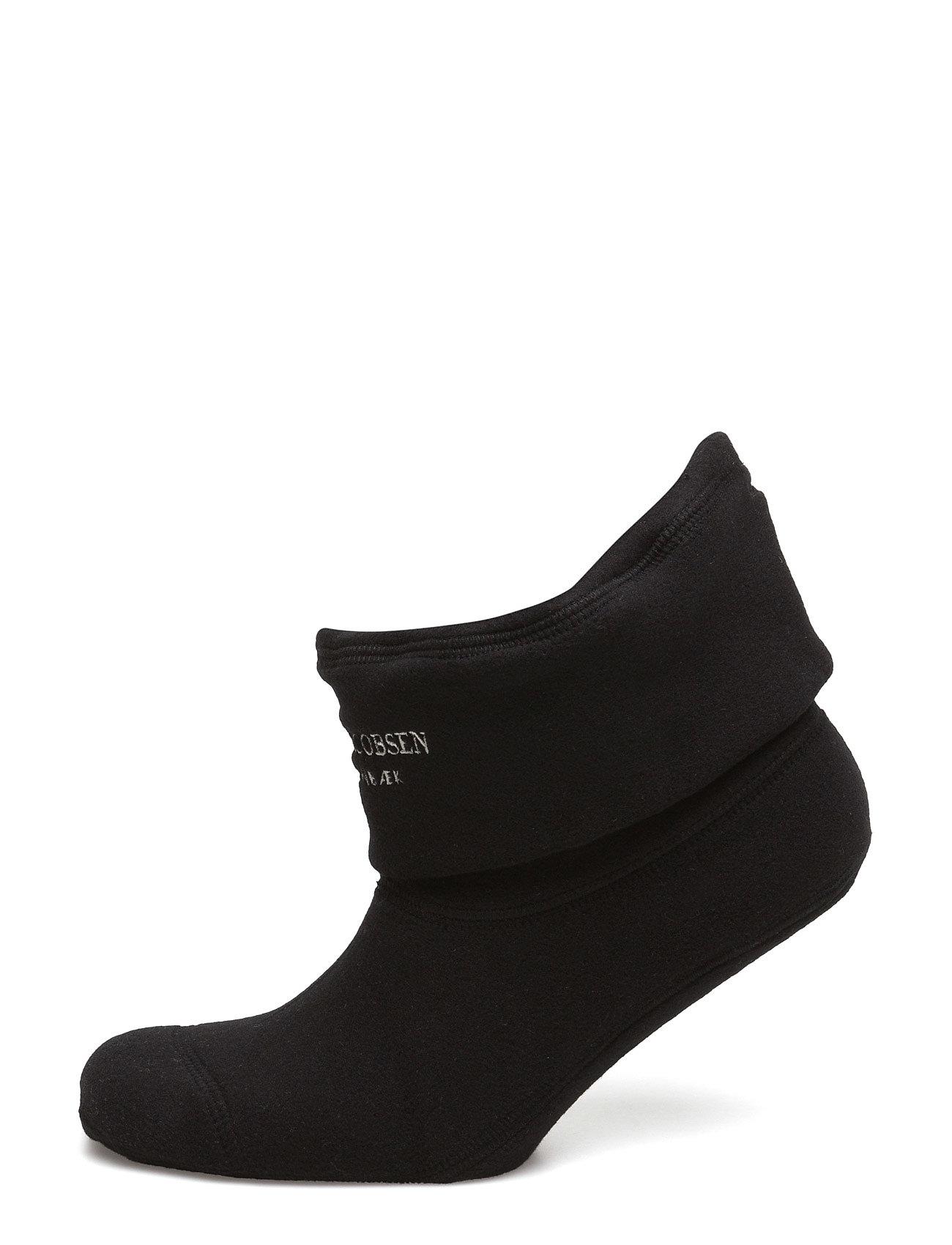 Ilse Jacobsen Fleece Sock - 001120 BLACK CREME