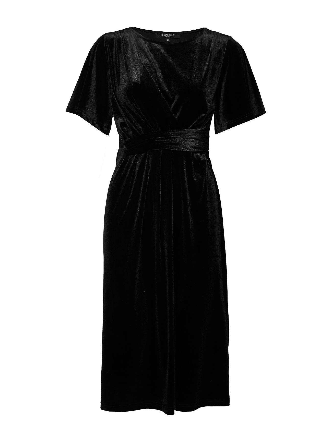 Ilse Jacobsen DRESS - BLACK