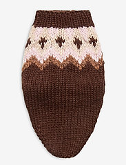 Ilse Jacobsen - Dog Knit - dog accessories - brown - 2
