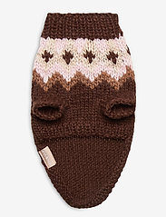 Ilse Jacobsen - Dog Knit - dog accessories - brown - 3