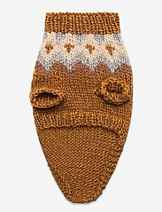 Ilse Jacobsen - Dog Knit - dog accessories - rust - 2