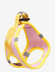 Ilse Jacobsen - Dog Harness - dog accessories - amber yellow rosebud - 2