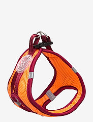 Ilse Jacobsen - Dog Harness - hundetilbehør - burnt henna red orange - 2