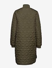 Ilse Jacobsen - Padded Quilt Coat - dynefrakke - army - 2