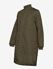Ilse Jacobsen - Padded Quilt Coat - dynefrakke - army - 3