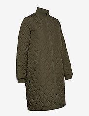 Ilse Jacobsen - Padded Quilt Coat - dynefrakke - army - 4