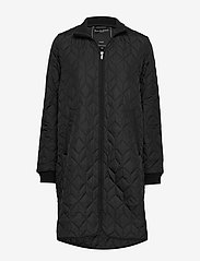 Ilse Jacobsen - Padded Quilt Coat - dynefrakke - black - 0