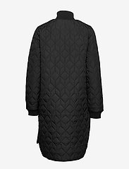 Ilse Jacobsen - Padded Quilt Coat - dynefrakke - black - 2