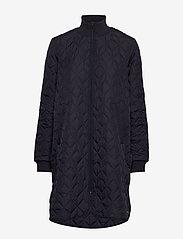 Ilse Jacobsen - Padded Quilt Coat - dynefrakke - dark indigo - 1