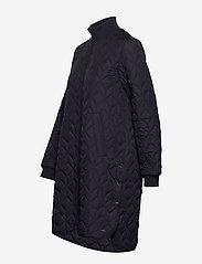 Ilse Jacobsen - Padded Quilt Coat - dynefrakke - dark indigo - 3