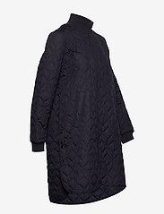 Ilse Jacobsen - Padded Quilt Coat - dynefrakke - dark indigo - 4