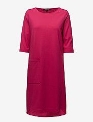 Ilse Jacobsen - DRESS - midiklänningar - 317 warm pink - 0