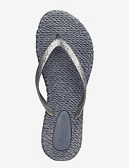 Ilse Jacobsen - FLIPFLOP WITH GLITTER - teenslippers - grey - 9