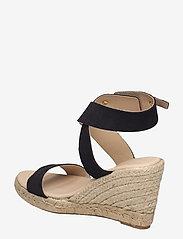 Ilse Jacobsen - High heel espadrilles - espadrilles mit absatz - black - 2