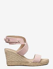 Ilse Jacobsen - High heel espadrilles - højhælede espadrillos - pale blush - 1