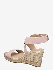 Ilse Jacobsen - High heel espadrilles - højhælede espadrillos - pale blush - 2