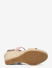 Ilse Jacobsen - High heel espadrilles - højhælede espadrillos - pale blush - 4