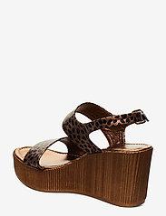 Ilse Jacobsen - WEDGES - sandales à talons - light chestnut - 2