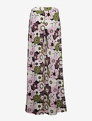 Ilse Jacobsen - PANTS - wide leg trousers - lavender pink - 1