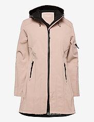 Ilse Jacobsen - 3/4 RAINCOAT - manteaux de pluie - adobe rose - 0