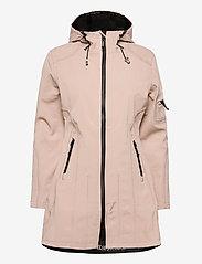 Ilse Jacobsen - 3/4 RAINCOAT - manteaux de pluie - adobe rose - 1