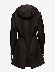 Ilse Jacobsen - HIP-LENGTH SOFTSHELL RAINCOAT - rainwear - black - 2