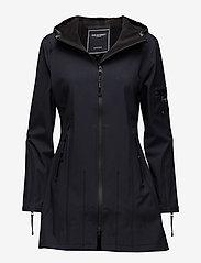 Ilse Jacobsen - HIP-LENGTH SOFTSHELL RAINCOAT - manteaux de pluie - indigo - 0