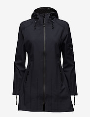 Ilse Jacobsen - HIP-LENGTH SOFTSHELL RAINCOAT - manteaux de pluie - indigo - 1