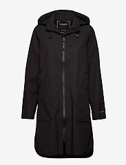 Ilse Jacobsen - Raincoat - regnjakker - black - 0