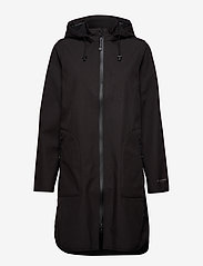 Ilse Jacobsen - Raincoat - regnjakker - black - 1