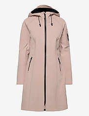 Ilse Jacobsen - LONG RAINCOAT - regnjakker - adobe rose - 1