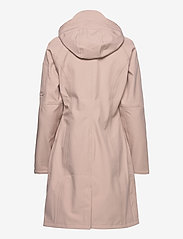 Ilse Jacobsen - LONG RAINCOAT - regnjakker - adobe rose - 2