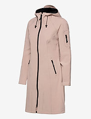 Ilse Jacobsen - LONG RAINCOAT - regnjakker - adobe rose - 3