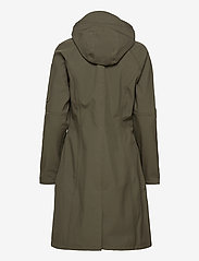 Ilse Jacobsen - LONG RAINCOAT - regntøj - army - 2