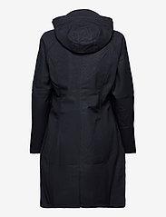 Ilse Jacobsen - LONG RAINCOAT - regntøj - dark indigo - 2