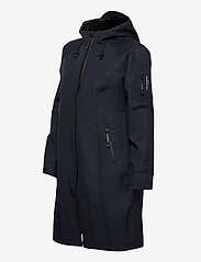 Ilse Jacobsen - LONG RAINCOAT - regntøj - dark indigo - 3