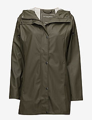 Ilse Jacobsen - Raincoat - regnjakker - army - 0
