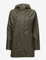 Ilse Jacobsen - Raincoat - regnjakker - army - 1