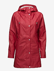 Ilse Jacobsen - Raincoat - regnjakker - deep red - 1