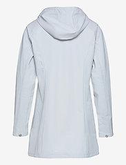 Ilse Jacobsen - Raincoat - regnjakker - white blue - 1