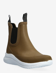SHORT RUBBER BOOTS - BROWN