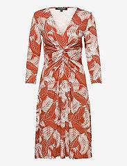 Ilse Jacobsen - Dress - hverdagskjoler - redwood - 0
