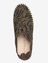 Ilse Jacobsen - FLATS - baskets slip-on - deep olive - 3