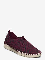 Ilse Jacobsen - FLATS - baskets slip-on - winetasting - 0