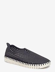 Ilse Jacobsen - Flats - slip-on sneakers - 01 black - 0