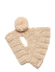 Dog Knit Hat - NATURAL
